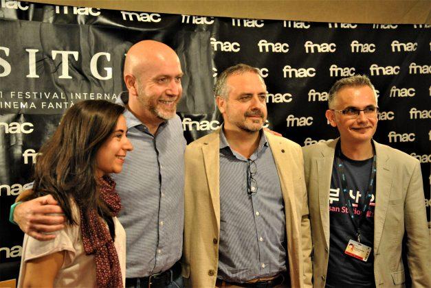 Presentació '12 Hores de Terror de Martorell' al Festival de Sitges