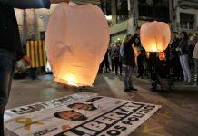 Concentració un any de presó Jordis