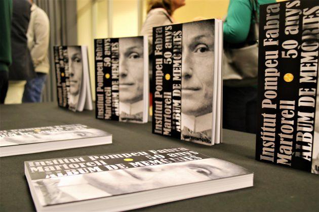 Presentació àlbum 50 anys Institut Pompeu Fabra