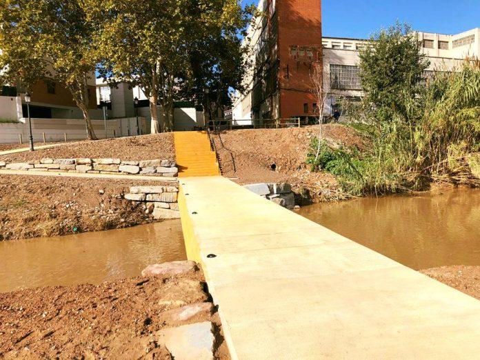Nou gual inundable riu Anoia