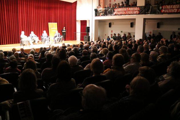 Acte d'Òmnium Cultural a l'Auditori