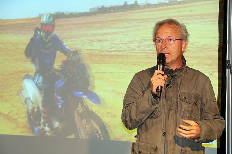 Presentació del pilot Pep Mas al Dakar 2019. Xavier Folch