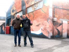 El regidor de Cultura, Sergi Corral, i Sfhir