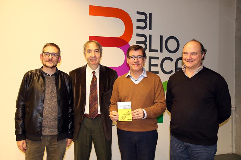 Presentació d''El moviment coral dins el teixit social català'. Miquel-Lluís Muntané