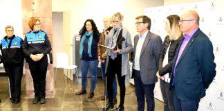 Lectura manifest Dia internacional per a l'eliminació de la violència vers les dones