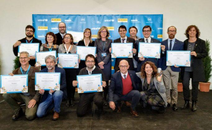 Municipis catalans Ciutat Amiga de la Infància UNICEF