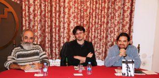 Presentació 'La carícia del fantasma' d'Oriol Alonso