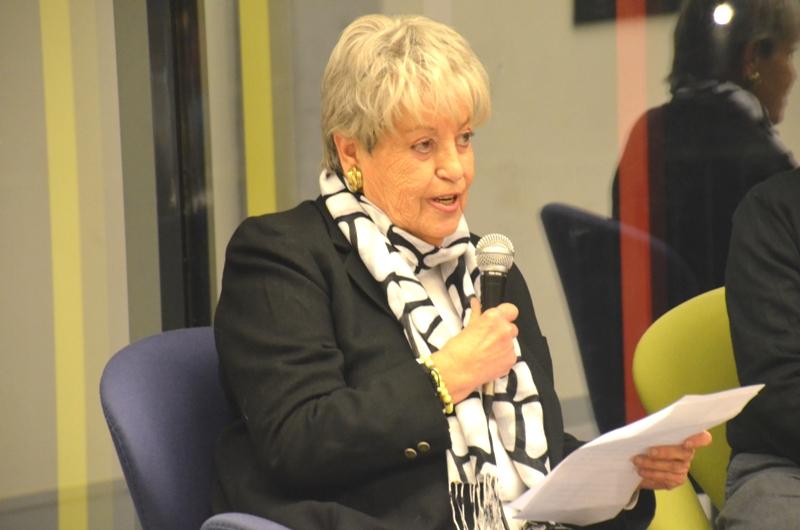 Montserrat Campmany, presidenta de la junta local de l'associació Catalunya Contra el Càncer