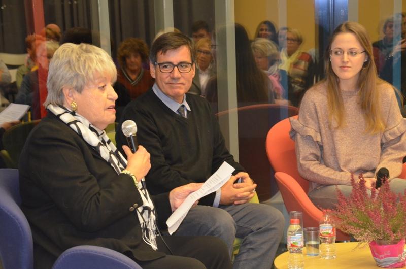 Montserrat Campmany, Xavier Fonollosa i Esther Viñas