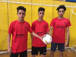 Jugadors cadet A Sala5 Martorell