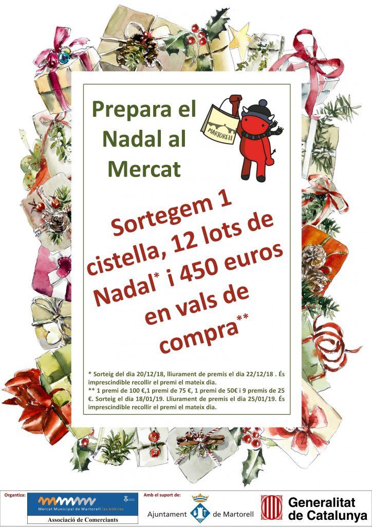 Mercat Les Bòbiles. Campanya de Nadal