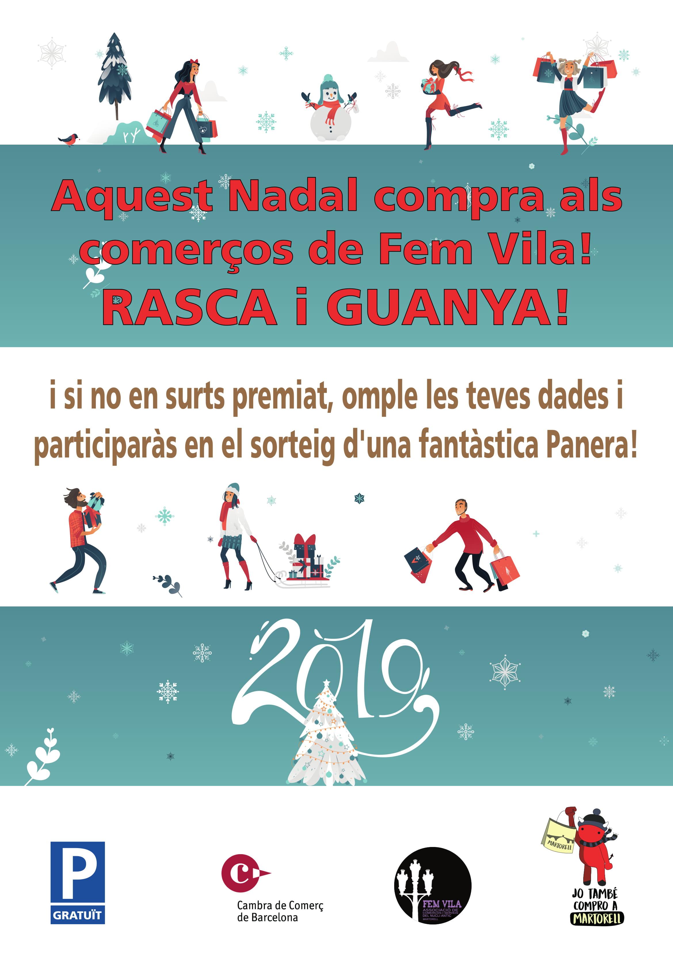 Fem Vila. Campanya de Nadal 2018