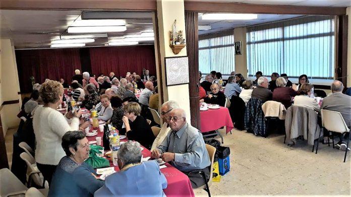Festa de Nadal a l'Esplai de la Gent Gran de Buenos Aires