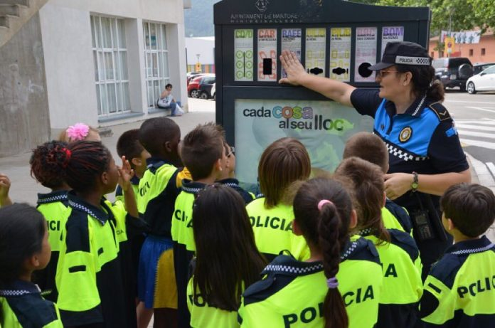Maria Teresa Bastardas, agent de proximitat Policia Local de Martorell