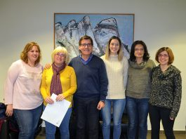 Signatura del conveni entre el PMSAPM i el Club Judo Martorell