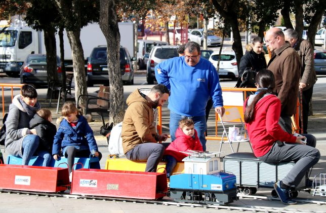 Amics del Ferrocarril amb La Marató de TV3