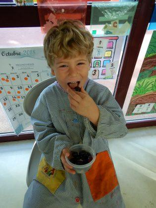 Martorell Saludable. Premi Categori Local (4 a 6 anys). 'Tastet de raïm', d'Iu Espinal Martínez