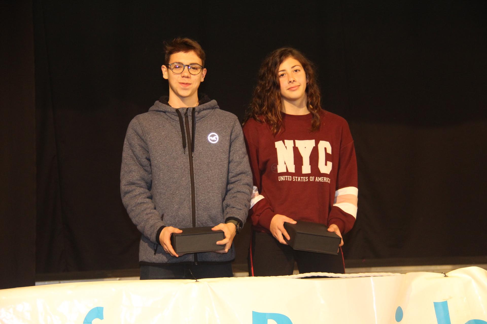 Martí Ezcurra i Lucía Gómez, guanyadors premi Joaquim Puig