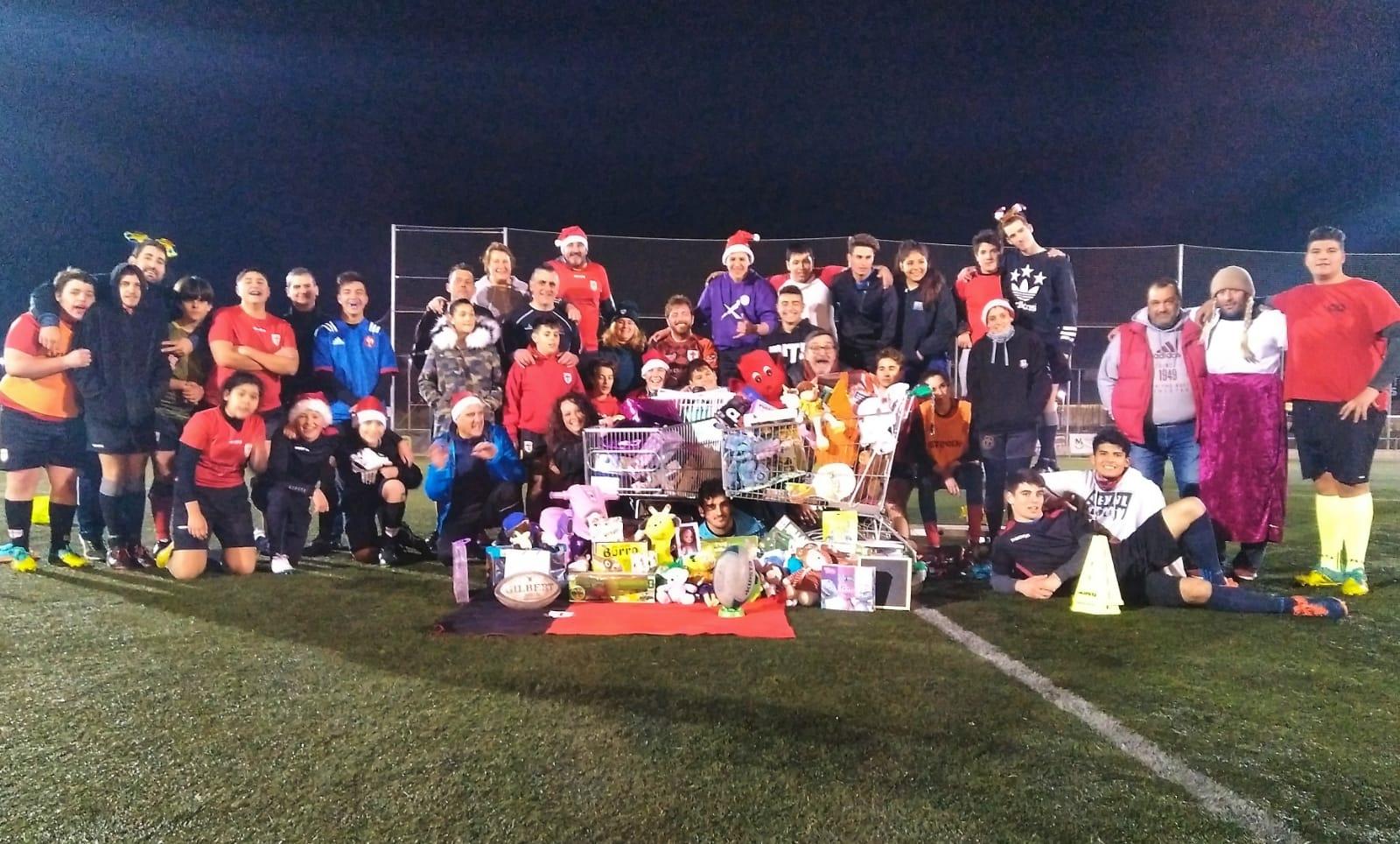 Recollida Solidària del Rugby Club Martorell