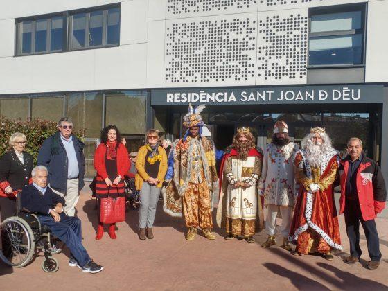 Visita dels Reis a la Residència