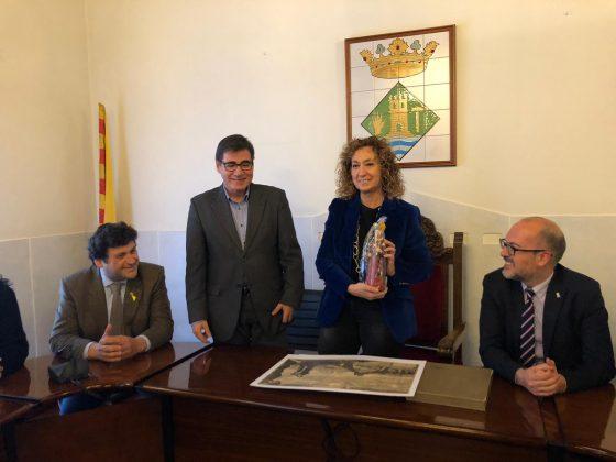 Visita consellera de Justícia a l'Ajuntament