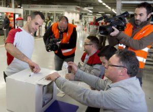 Eleccions sindicals a SEAT. Foto: ACN