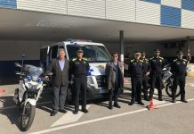La Policia Local estrena nous vehicles