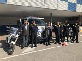 La Policia Local estrena nous vehicles