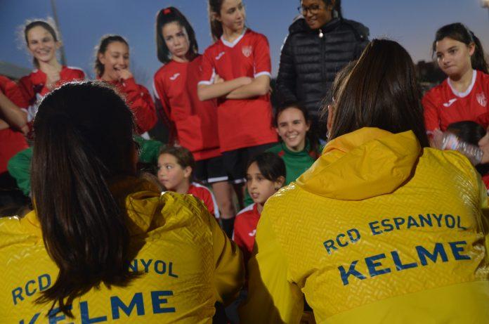 Visita jugadores RCD Espanyol