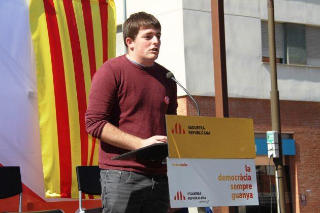 Pau Morales, portaveu nacional del Jovent Republicà
