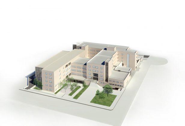 Render. Hospital de Martorell