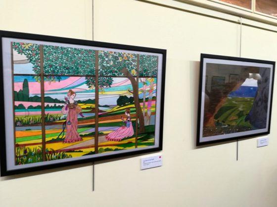 Inauguració exposició 'Com l'art floreix de l'adversitat'