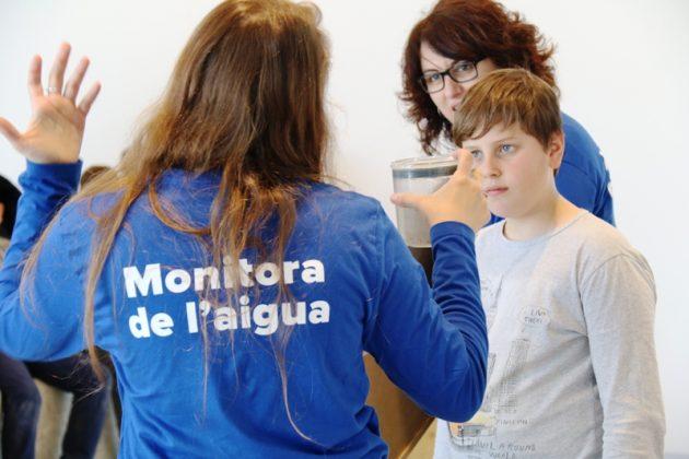 Dia Mundial de l'Aigua. Visita a l'ETAP