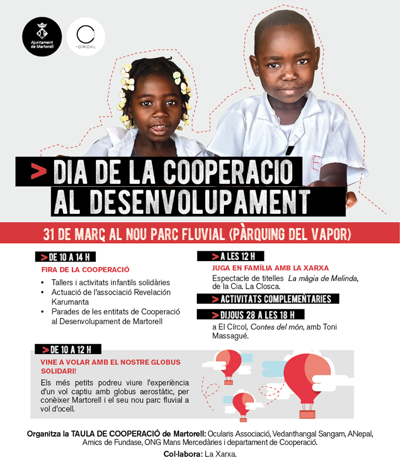 Dia de la Cooperació al Desenvolupament