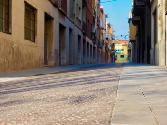 Carrer de Sant Josep. Foto: Maria Tarragó