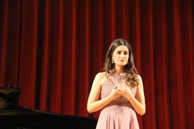 Concurs de Cant Josep Palet. Cristina Vall