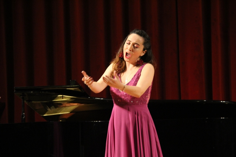 Concurs de Cant Josep Palet. Tabita Martínez