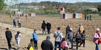 Lliurament de les claus dels nous horts urbans a La Vila