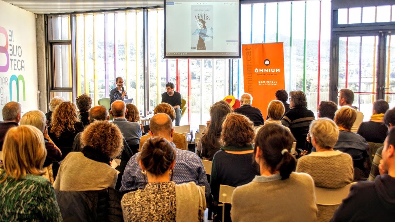 Presentació de 'La Vigília' de Marc Artigau. (Foto: Llibert Claver)