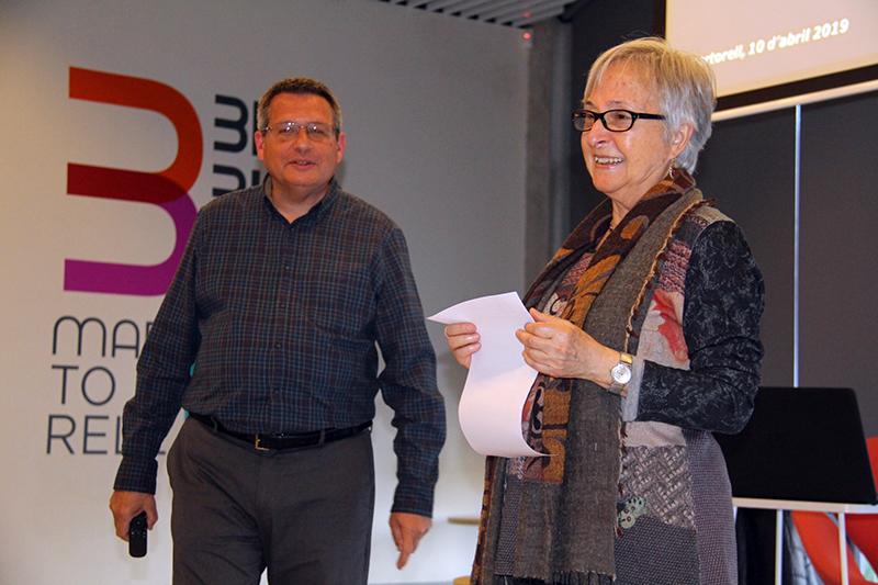 Joan Carles Alay i Rosario Navarro, xerrada del CEM sobre arqueofurtivisme