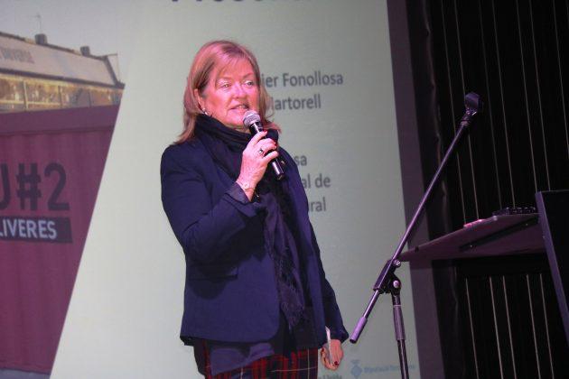 Àngels Ponsa, directora general de Cooperació Cultural del Departament de Cultura de la Generalitat