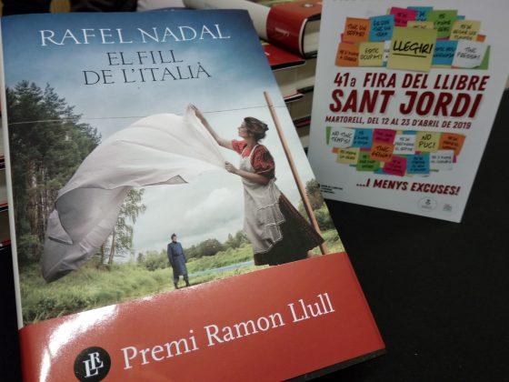 Presentació 'El fill de l'italià' de Rafael Nadal