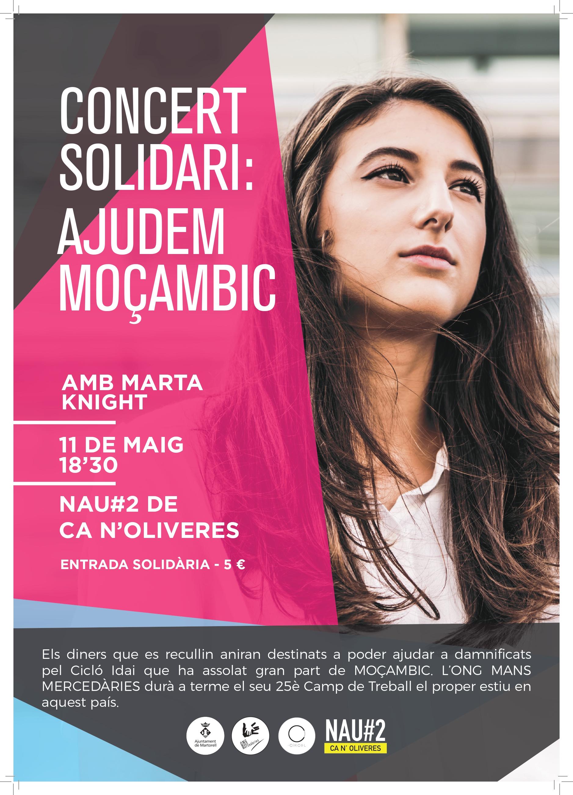 Concert solidari 'Ajudem Moçambic'