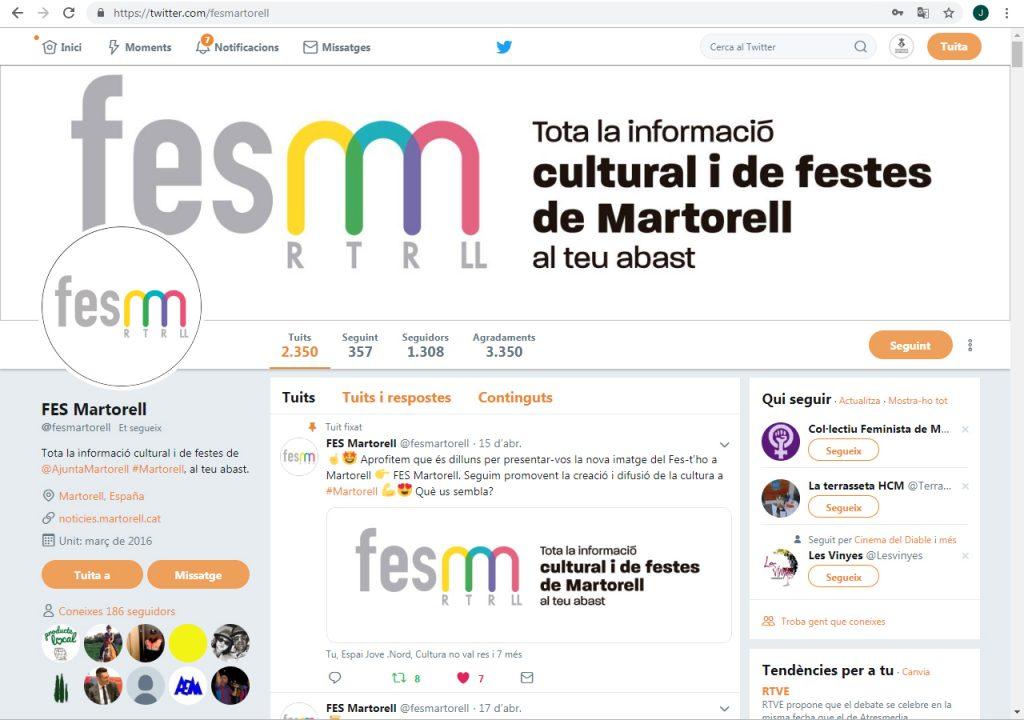 FES Martorell a Twitter
