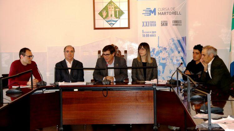 Presentació Cursa de Martorell