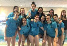 Equip waterpolo femení CN Martorell