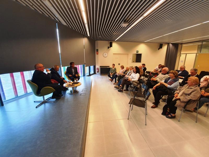 Presentació del llibre 'Luter', d'Antoni Gelonch