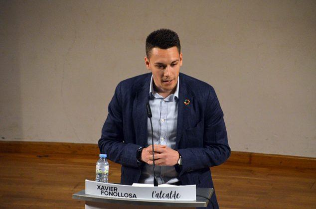 Acte electoral de Junts per Martorell. Albert Gil