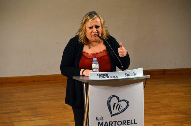 Acte electoral de Junts per Martorell. Soledad Rosende