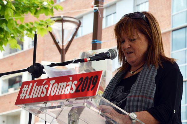 Acte electoral del PSC. Maria Lluïsa Navarrete